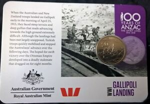 2015-TWENTY-CENT-COIN-ANZAC-GALLIPOLI-LANDING-UNCIRCULATED