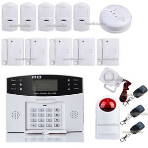 LCD-WIRELESS-SECURITY-GSM-AUTODIAL-SMS-HOME-HOUSE-OFFICE-BURGLAR-INTRUDER-ALARM