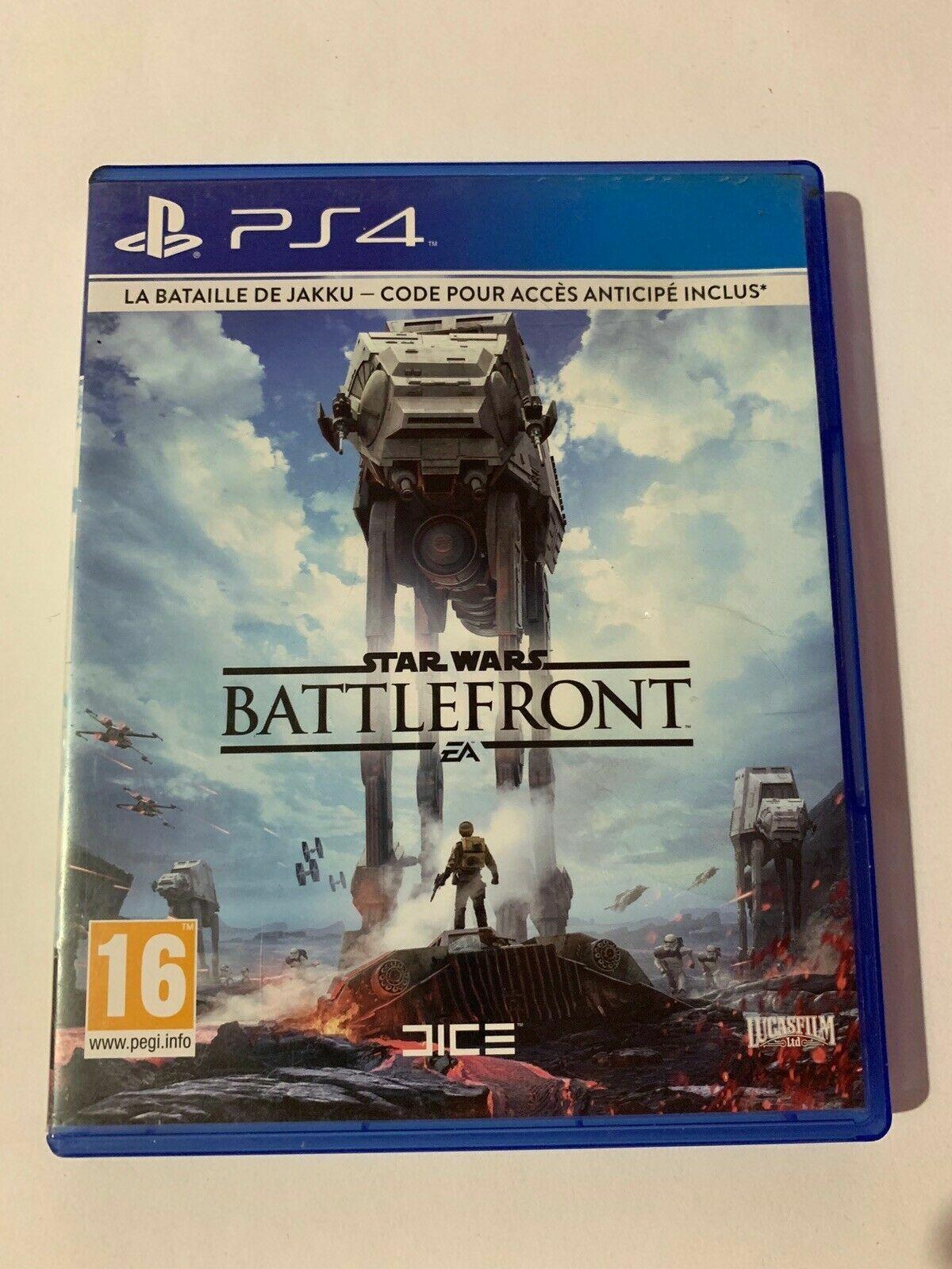 jeux ps4,Star Wars Battlefront - Occasion StarWars