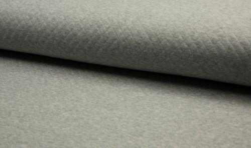 Diamond jersey gris claro 165cm jaspeadas Algodón steppsweat Quality textiles