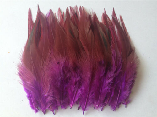 Beautiful 50pcs//100pcs pheasant neck feathers 4-6inch//10-15cm Wholesale