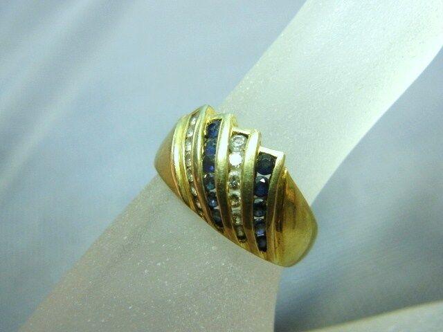 3410-333er yellowgoldring m Zirkon Ringgroße 57,5 Ringkopf Breit 1cm Gew 3,53 gr