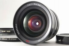 【AB- Exc】 CONTAX Carl Zeiss Distagon 18mm f/4 T* AEG Lens w/Filter JAPAN #2430