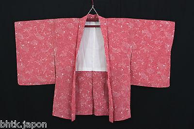 2019 Moda 羽織 Haori Giapponese - Rosa Motivi Floreali - Giacca - Import Giapponese