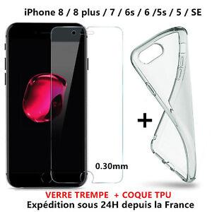 1-COQUE-ETUI-HOUSSE-iPhone-6-6S-Plus-7-8-1-VERRE-TREMPE-VITRE-protection-ecran