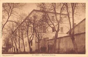 CPA-ALGERIE-SETIF-CASERNE-DE-L-039-AVIATION