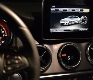 P3 Multi Gauge Mercedes A/CLA - Boost, AFR OBD 2 - A45 CLA45 A250 A200 W176 A117