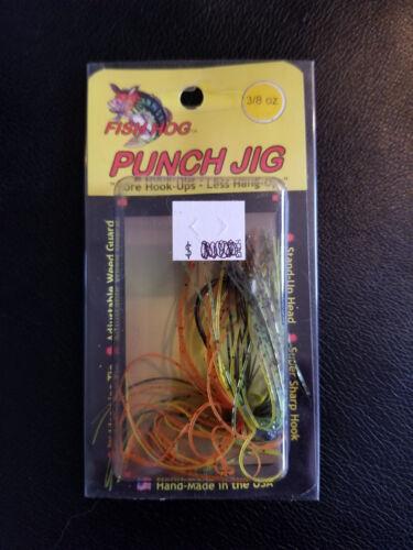 Poisson Porc Punch Jig 3//8oz Perche *