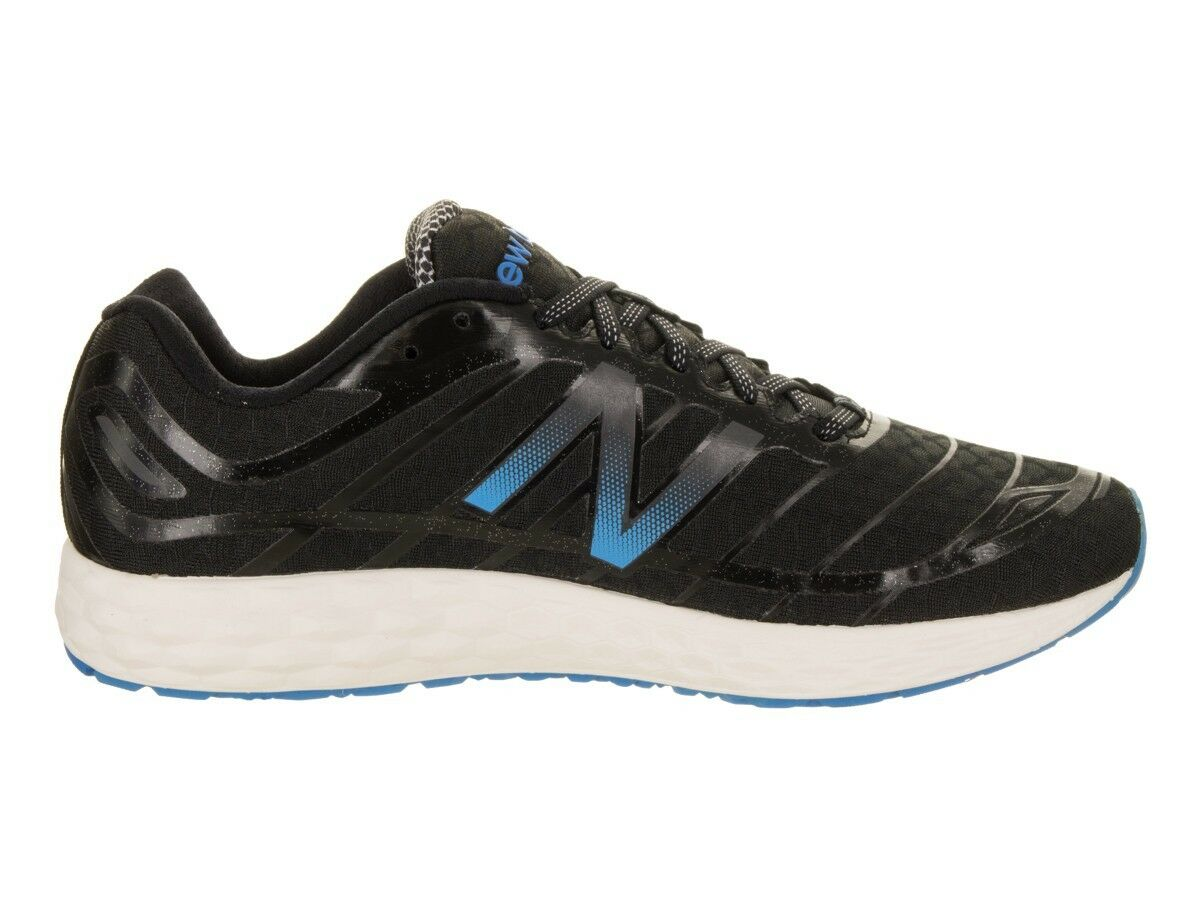 New Balance M980BS2 Running men's shoes black+bluee Original NWB