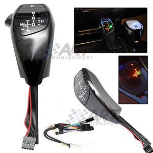 Palanca-de-cambio-automatico-Joystick-led-para-Bmw-E60-E61-con-boton-lateral