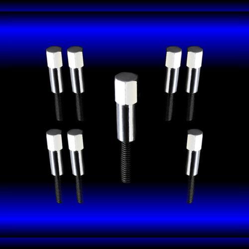 Valve Cover Mini Bolts Chrome 5//16 fits Pontiac 326 350 400 455 Engines Set of 8