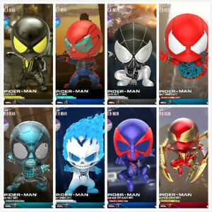 Hot-Toys-Marvel-Spider-Man-COSBABY-Mini-Collection-Doll-8-Figure-Toy-Bubble-head