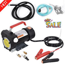 12v 155w Electric Diesel Pump Fuel Delivery Pump With Nozzle And Hose For Car Us