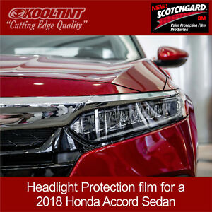 Headlight Protection Film By 3m For 2018 Honda Accord Sedan Ebay