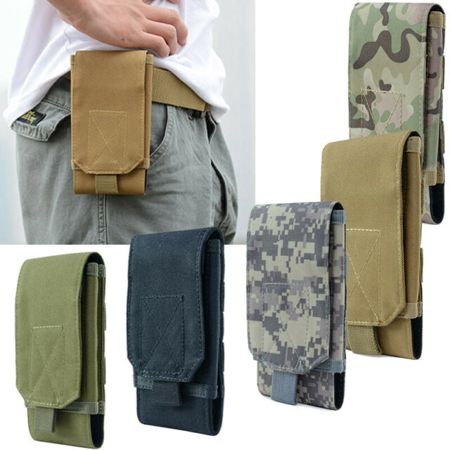Paratrooper Belt Pouch Waist Pack Bag Carrier Case Military Army Walking New