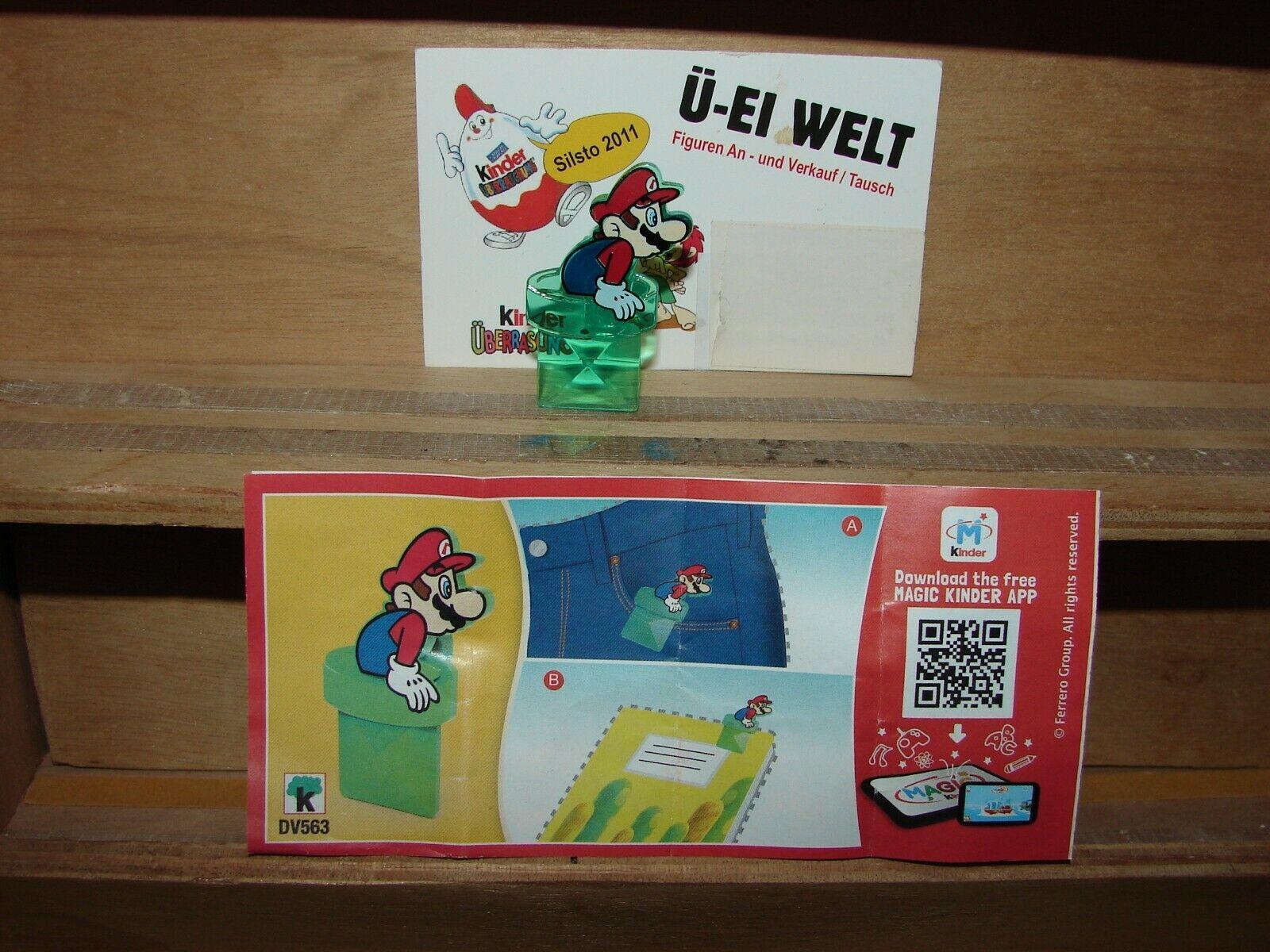 BPZ Super Mario Kinder Joy 2020 DV552 Mario Uhrschützer
