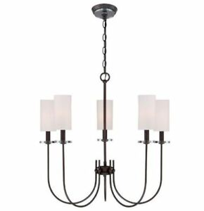 Details About World Imports Wi973697 Monroe 5 Light Chandelier Dab
