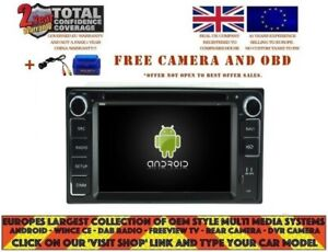 Details about AUTORADIO DVD GPS NAVI BT ANDROID 9 0 DAB* TOYOTA TERIOS LAND  CRUISER 100 RD5715