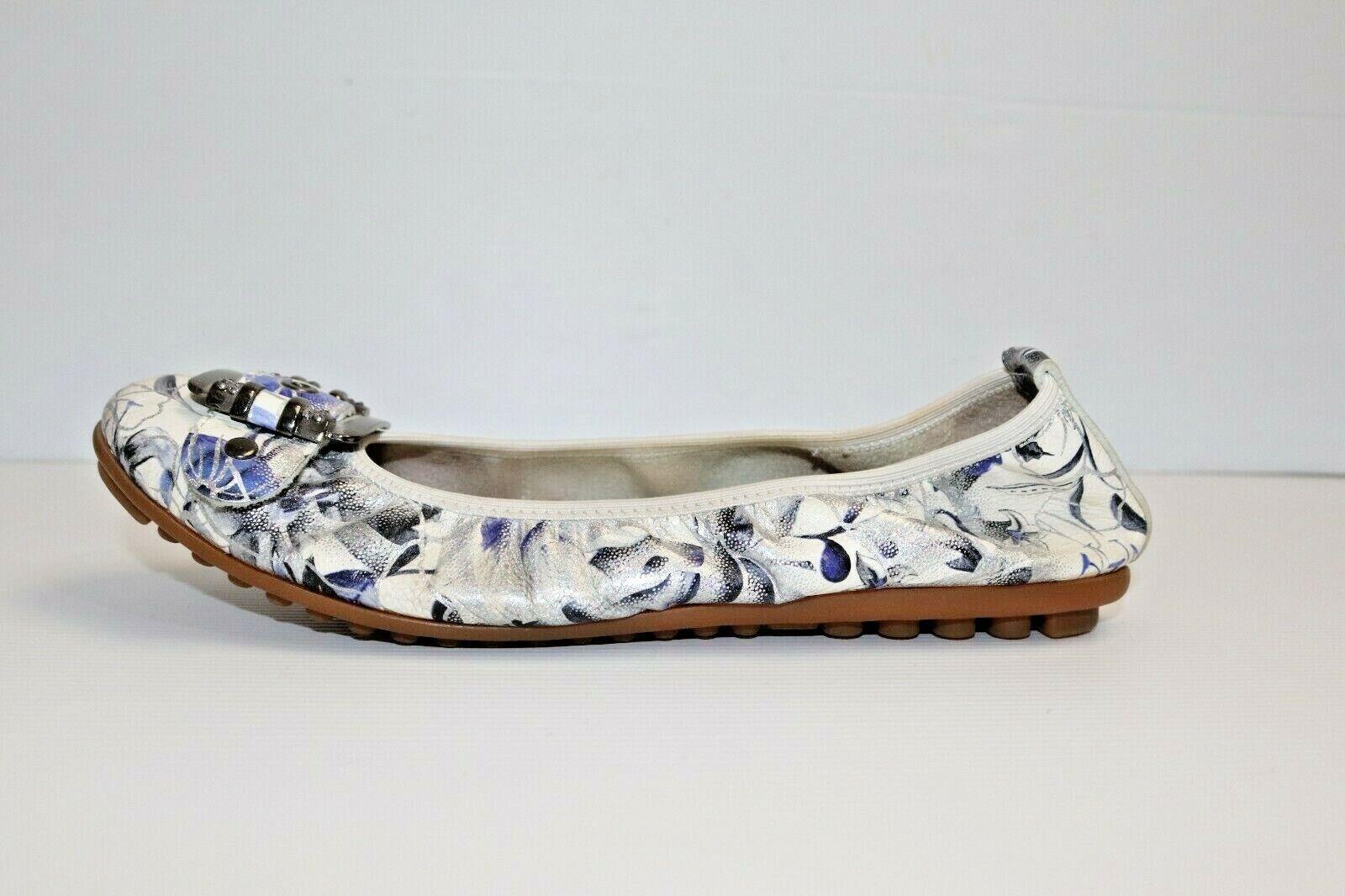 CC Resorts Women's Comfort Flats Floral Shoes Size 38