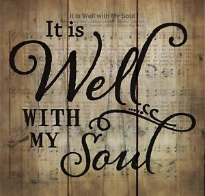 It-is-Well-with-My-Soul-Hymn-Sheet-Music-10-x-11-Wood-Pallet-Wall-Art-Plaque