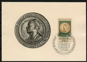 GDR-Mk-Maximum-Card-With-Minr-791-Dresden-Art-Collection-1960