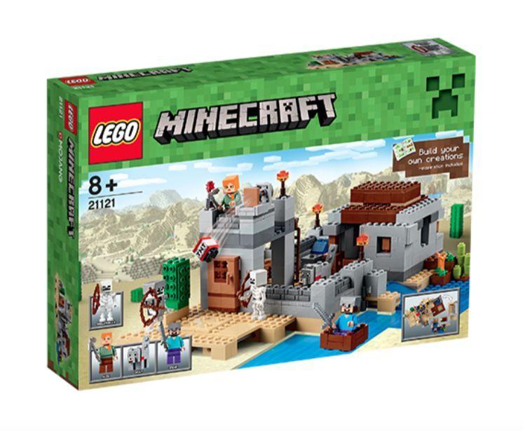 LEGO® Minecraft 21121 Wüstenaußenposten NEU OVP_The Desert Outpost NEW NEW NEW MISB NRFB 9bb351