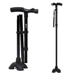 Self-Standing-Folding-Walking-Stick-Cane-Available-Cushion-Handle-USA