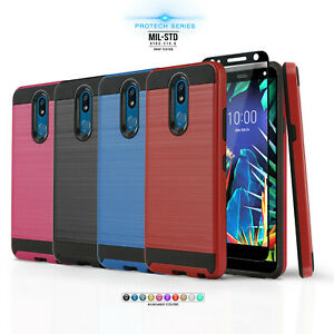 for-LG-K40-K30-Protech-Series-Phone-Case-Shockproof-Cover-Tempered-Glass