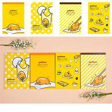 Sanrio Gudetama Lazy Egg Letter Pad Set (18 Designs 81 sheets) : 1pk Random