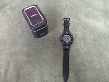 Casio Triple Sensor Watch Compass, Thermometer Altimeter 5 Alarms SGW-1000