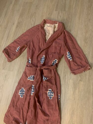 1950's Native American Print Robe Possibly Beacons