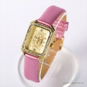 Card-Captor-Sakura-card-Motif-Wrist-Watch-Sakura-card-ver-pink-Takara-Tomy-New