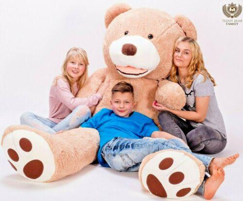 Teddybär XXL 240 cm Riesen Stofftier Plüschtier Groß XL Teddy Bär Geschenke idee