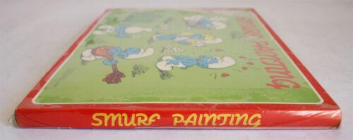 PALETTE GREEK NEW SEALED 6 SMURF IMAGES RARE VINTAGE 1984 SMURFS PAINTING SET