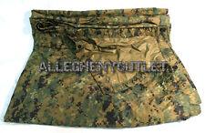 "USMC Military MARPAT Woodland Digital REVERSIBLE FIELD TARP 90""x80"" GOOD"