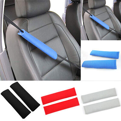 2x Comfortable Car Seat Safety Belt Shoulder Strap Pads Harness FAST