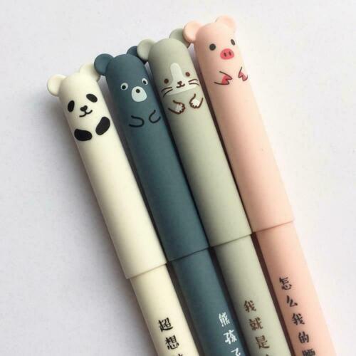 Niedlichen Tier Panda Maus löschbaren Gel Ink Pen 0 Gel Schulmaterial mm Pe N4C6