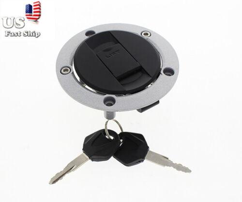 USA Gas Fuel Tank Cap Cover 2 Keys For Suzuki GSXR750//GSXR600//GSXR1000 2006-2011