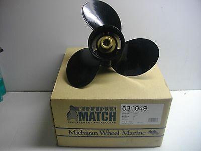 Michigan Match Aluminum Propeller For Force 25HP 10 3//8 x 11 031049