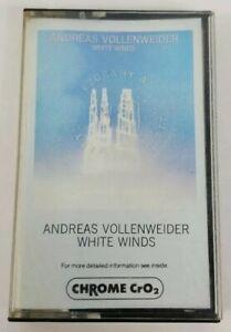 Andreas Vollenweider White Winds Audio Cassette 1984 AVAF CBS