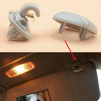 2Pc Interior Inner Sun Visor Hook Clip Bracket Fit for Audi A1,A3,A4,Q3,Q5