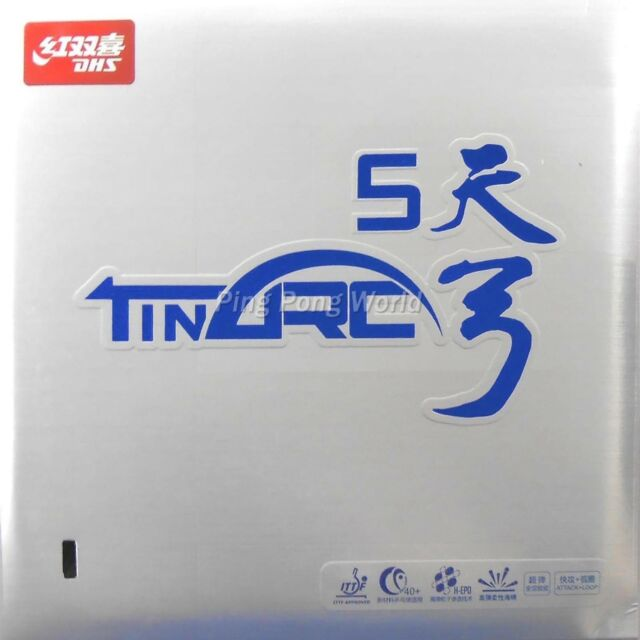 DHS TinArc5/TinArc 5/TinArc-5 Pips-in Table Tennis Rubber/Sponge, Free shipping