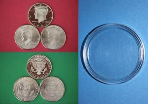 2003 D John Kennedy Half Dollar With DIY Slab from Mint Set Combined Shipping