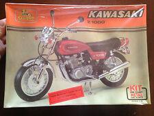 GUILOY KIT SCALA 1:10 MOTO KAWASAKI Z1000 METAL AND PLASTIC RARISSIMA!!