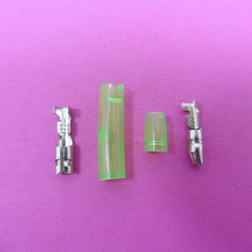 Nickel Female+Male 3.9mm Car Bullet Connector Terminal DJ211-4A DJ221-4A Cover