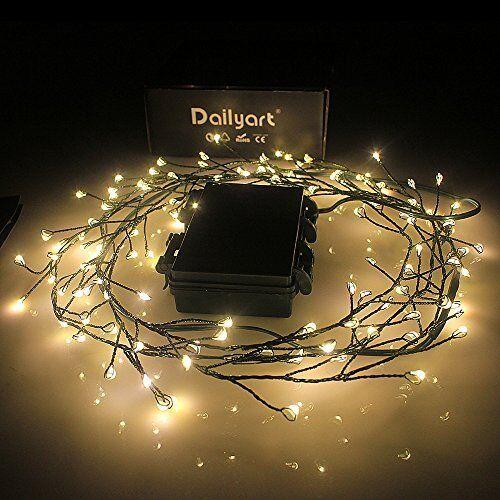 120 Leds Copper Wire Lights Fairy Lights Starry Lights Garden Lights For Homes,