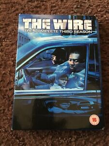 The-Wire-Series-3-Complete-DVD-2007-5-Disc-Set-Box-Set