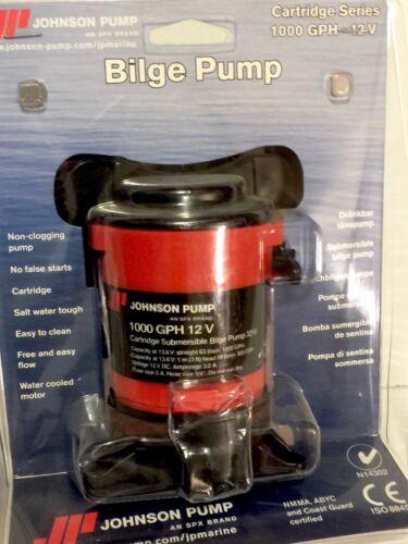 JOHNSON SPX MAYFAIR BILGE PUMP 1000 GPH 12 VOLT BOAT PUMP 32102