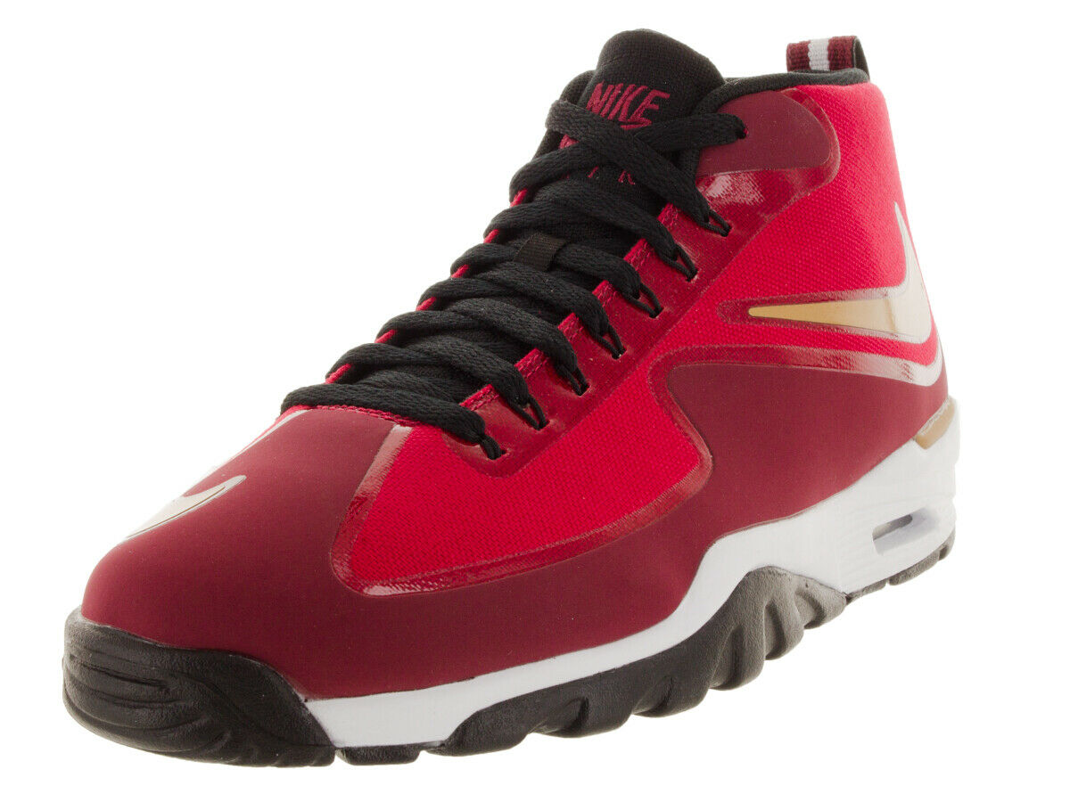 Nike Men's Air Untouchable Vapor Gym Red Metallic gold Team Red White Training