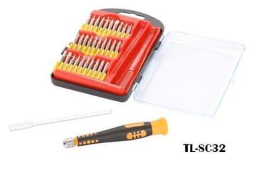 Syba 32-Piece Easy Grip Precision Screwdriver Tool Set